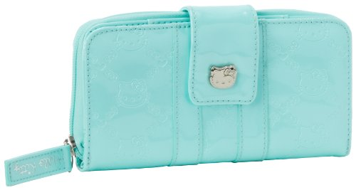Hello Kitty Sanwa0367 Wallet,Mint,One Size, Bags Central