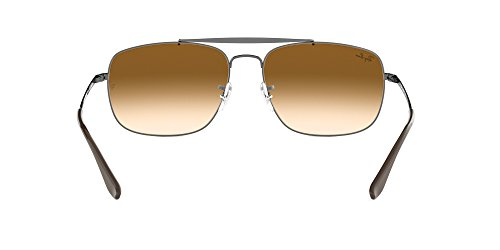 RayBan Mens Steel Man Sungkass Square Sunglasses Gunmetal 60 mm -  allstatepaintingcontractor.com 28a7e2098595