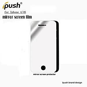 High Transparency Mirror LCD Screen Protector for iPhone 4/4S