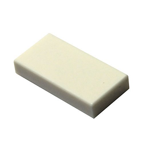 Lego Tile - LEGO Parts and Pieces: White 1x2 Tile x100