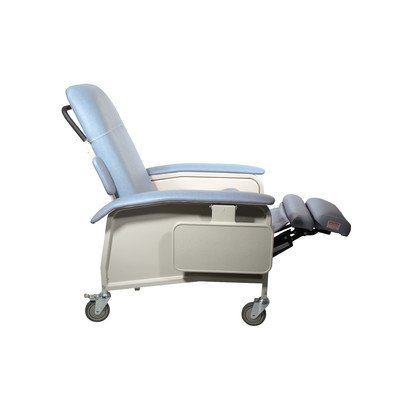 D577-BR - Clinical Care Geri Chair Recliner, Blue Ridge