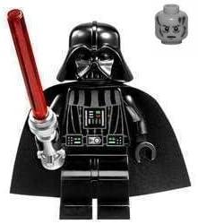 LEGO Star Wars Minifigure - Darth Vader with White Pupils (Death Star - Millennium Falcon 2010 Redesign)