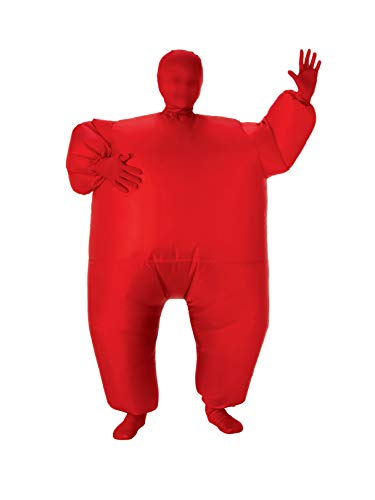 Child's Inflatable Full Body Suit, Red, One Size]()