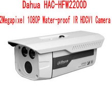 Dahua HAC-HFW2200D 2 Megapixel 1080P Water-proof IR HDCVI Camera Support Day/night Security Ip Cameras