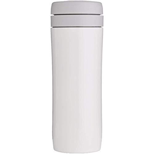 Espro Travel Coffee Press, Stainless Steel, 12 oz (Bright White)