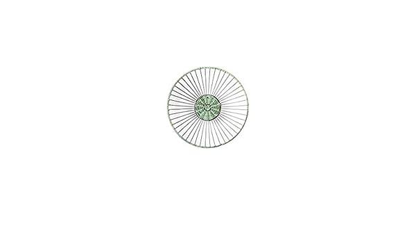Kenay Home Pic Plato, Ratán, Gris y Verde, 45x45x8.5 cm: Amazon.es ...
