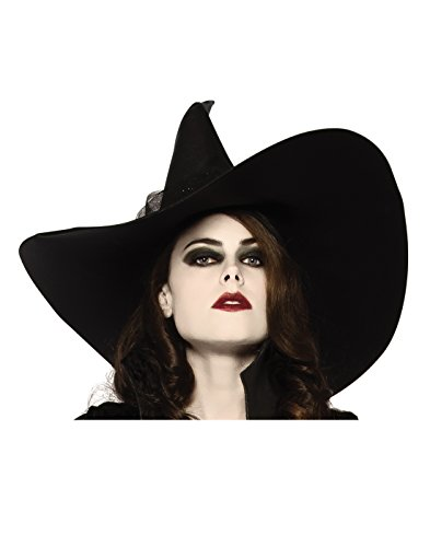 Rubie's Women's Witches Hat, Black, One Size