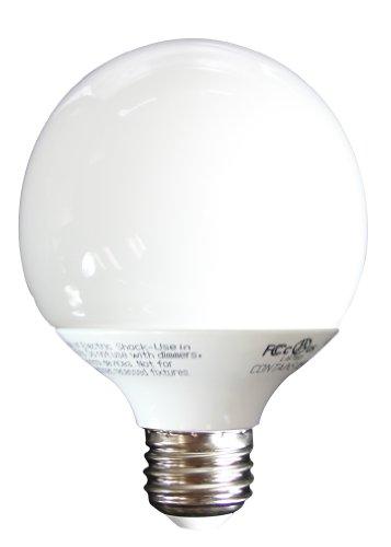 MaxLite SKM14EGWW G25 Globe 60-Watt incandescent equivalent Energy Star Qualified CFL Lamp ()