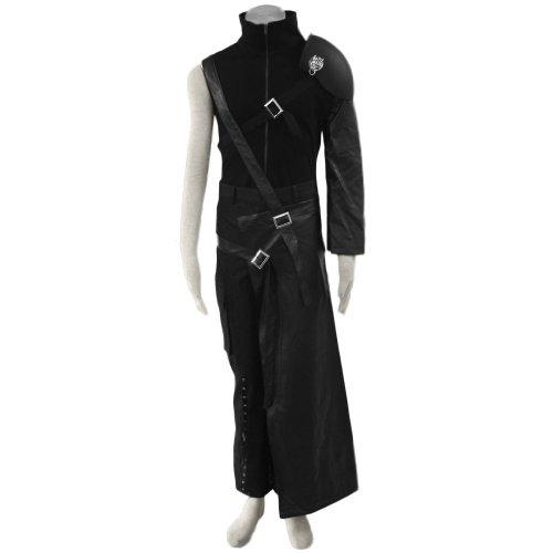 [CTMWEB Anime Final Fantasy VII Cosplay Costume - Cloud Strife Outfit X-Small] (Cloud Halloween Costume Final Fantasy Vii)