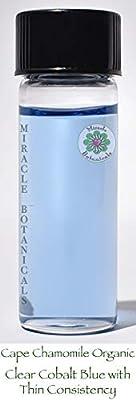 Miracle Botanicals Organic Cape Chamomile Essential Oil - 100% Pure Eriocephalus Punctulatus - Therapeutic Grade 5ml