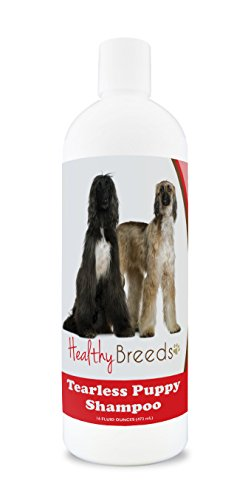 Healthy Breeds Tearless Puppy Dog Shampoo for Afghan Hound - OVER 100 BREEDS - Nourishes & Moisturizes for Growth - Safe with Flea and Tick Topicals - 16 -