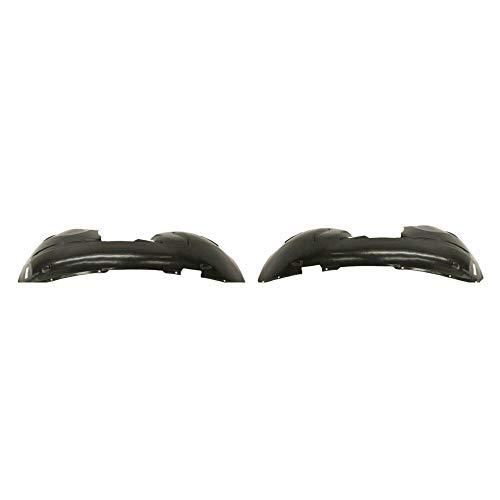 Parts N Go 2008-2018 GD Caravan Front Fender Liner Pair Driver & Passenger Side Left/Right Hand - CH1248147, 5113095AC