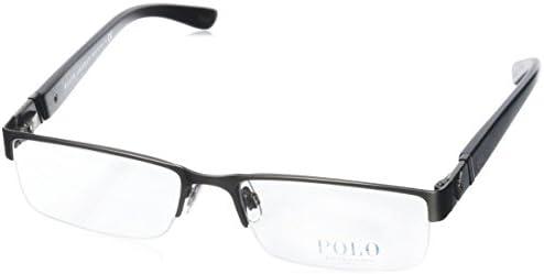 8af5dd8121f8 Polo PH1117 Eyeglasses-9157 Brushed Dark Gunmetal-56mm  Amazon.ca  Luggage    Bags