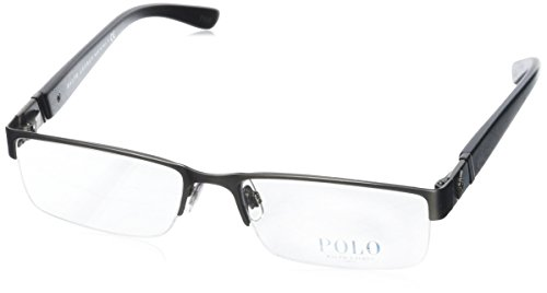 Polo PH1117 Eyeglasses-9157 Brushed Dark Gunmetal-56mm