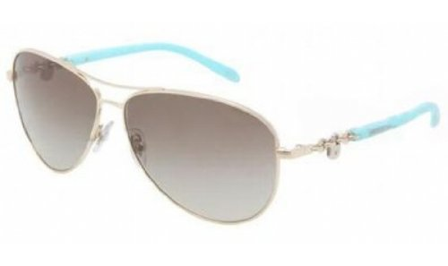 Tiffany Sunglasses TIF 3034 TURQUOISE 6021/3M - Sunglasses Tiffany