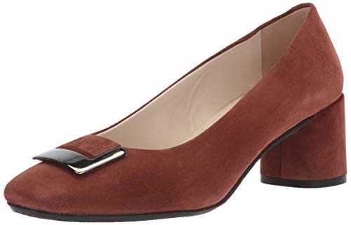 Amalfi Pumps - Amalfi by Rangoni Women's Ramiro Pump Cinnamon Cashmere 10 M US