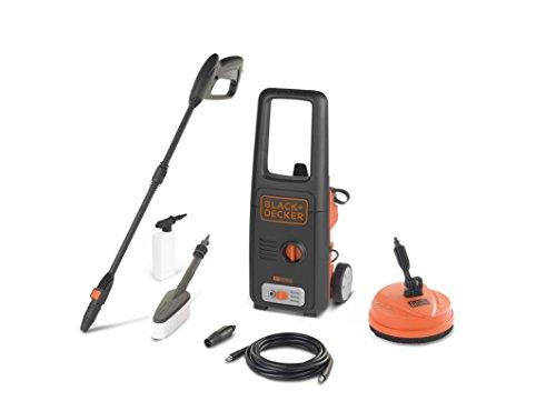 Black+Decker BXPW1400PE Idropulitrice ad Alta Pressione (1400W, 110 bar, 390 l/h) con Patio Cleaner e Spazzola Fissa, Plus 1 spesavip