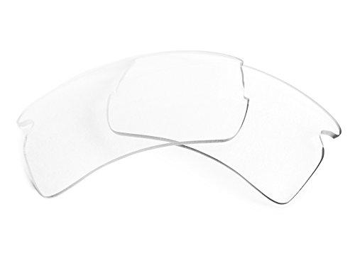 FUSE Clear w- AR Coating Lenses for Oakley Flak Jacket - Clear Lenses Jacket Flak