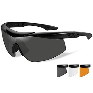 Wiley X CHTLN2 Wx Talon Advanced Changeable Sunglasses, Smoke