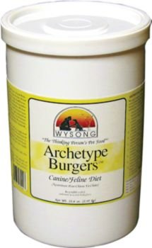Wysong TNT Diets Raw Archetype Burgers Pet Food, My Pet Supplies