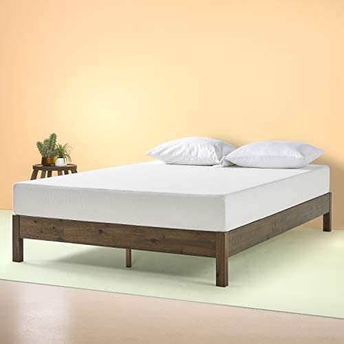 Zinus Tosha 12 Inch Wood Platform Bed, King