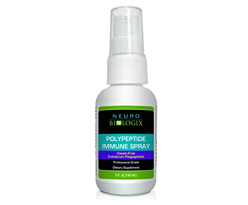 - Neurobiologix Polypeptide Immune Spray Immune System Support Supplements (5 Ounces)