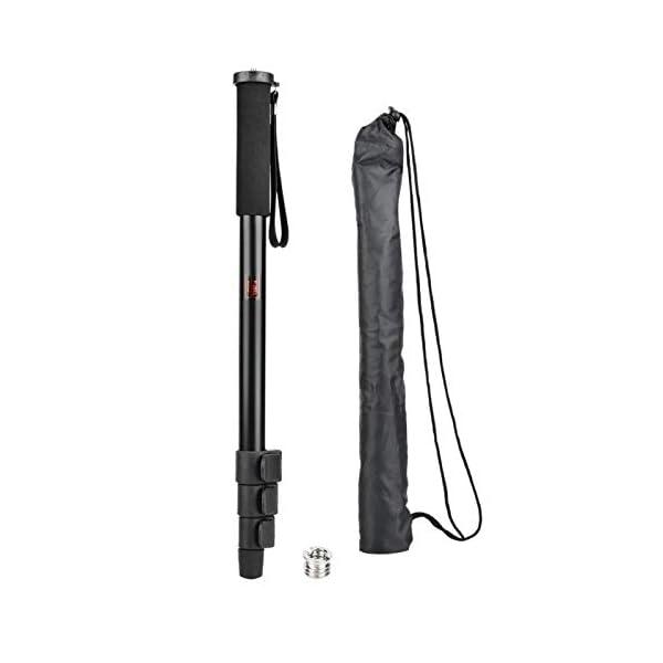 RetinaPix Monopod, Camera Support bar, Black Portable, Anti-Slip Pull-in Device for SLR Mobile Cameras(P264A)