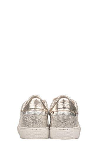 Crime London Zapatillas Para Mujer Dorado Dorado It - Marke Größe