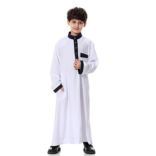 ROMANTIC BEAR Muslim Children's kurta - Muslim Robe Pakistani Costumes Traditional Clothing