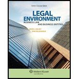 Legal Environment- Business Law & Business Entities (12) by [Paperback (2011)] (Legal Environment Business Law And Business Entities)