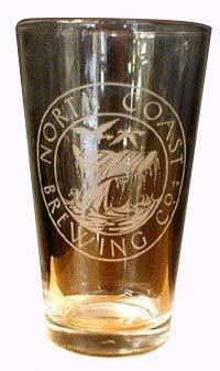 North Coast Brewing Company Logo Glassware - Set of Pint (North Coast Beer)