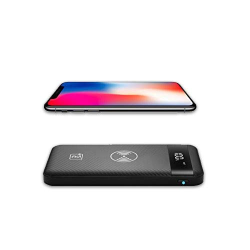 5E Wireless Charging POWERBANK + | 10000 MAH | BIS Approved Power Bank | 3 Input and Dual Output  Midnight Black  Power Banks