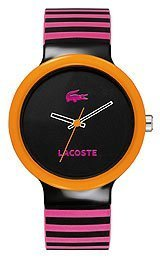 Lacoste Sport Collection Goa Black Dial Unisex Watch #2020003