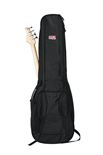 Gator Cases 4G Series Double Gig Bag for Bass Guitars with Adjustable Backpack Straps (GB-4G-BASSX2) by Gator (Image #2)
