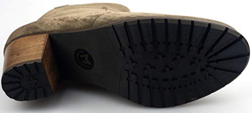 Donna Grau Damiane fashion 26665 10565 Dark Stivali Taupe Mephisto Orsay vRqzww8