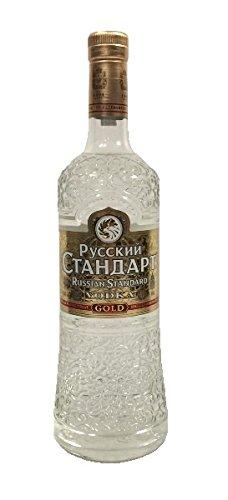Russian Standard Gold Vodka 40% 1,0l Flasche