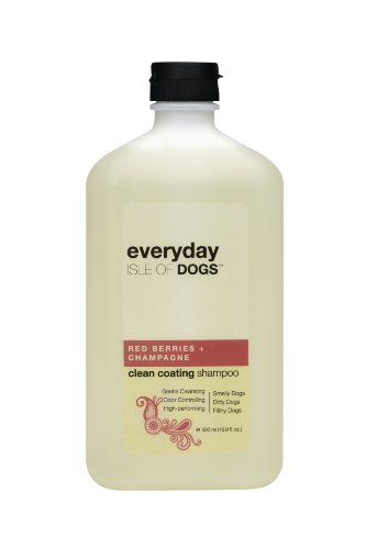 Everyday Isle of Dogs Clean Coating, Red Berries + Champagne Dog Shampoo for Dirty, Filthy and Smelly Dogs, 16.9oz, My Pet Supplies