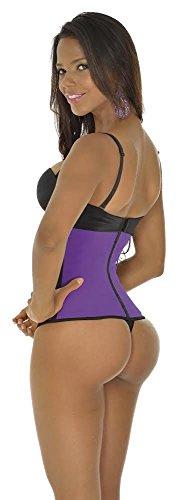 Ann Michell 2024 Women's Workout Waist Cincher Purple M/34 3 Hooks