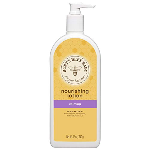Burt's Bees Baby Nourishing Lotion, Calming Baby Lotion - 12