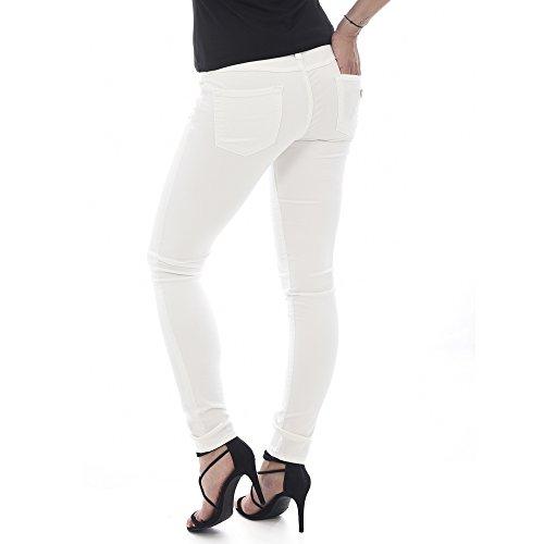 Mujer W64a31w77r2 Jeans A021 Guess Blanco Zgw61Ax5q