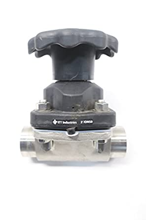 New itt 2 316l ra25max cwp150 pure flo stainless diaphragm valve 2in new itt 2 316l ra25max cwp150 pure flo stainless diaphragm valve 2in ccuart Gallery