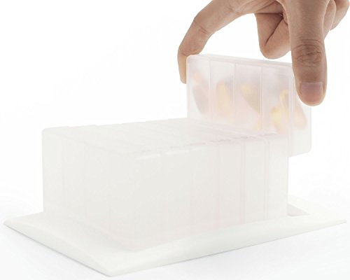 7 Days Weekly Pill Organizer Box Accessory for Memo Box Smart Pillbox, 4 compartments for 4 times a day (Box Pill Smart)