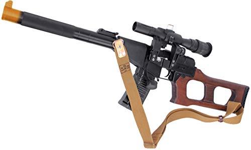 King Arms Airsoft - Evike King Arms VSS Vintorez Full Metal Airsoft AEG Sniper Rifle
