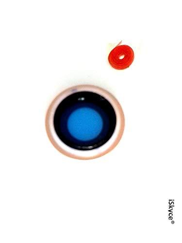 132g. Rose Gold Frame - Camera Lens for Apple iPhone 8 Phon (Kleine Gold Frames)