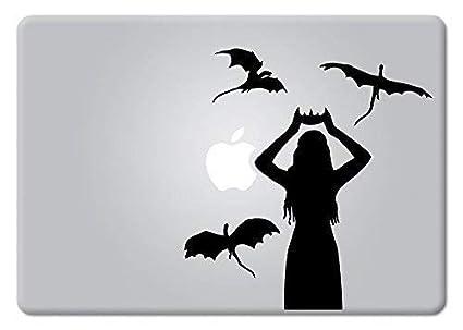 50d095c6d97f2 Daenerys Targaryen Game of Thrones Emilia Clarke Mother of Dragons Macbook  Decal Vinyl Sticker Apple Mac Air Pro Retina Laptop sticker