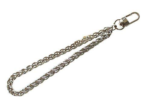 New hot Metal Replacement Wrist Strap For Clutch/Wristlet/purse/pouch (Silver)