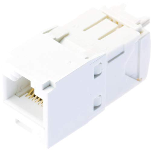 Panduit CJ688TGWH Category-6 8-Wire TG-Style Jack Module, White