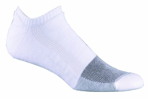 Fox River Wick Dry Triathlon Ankle Socks, White, Large - Fox River Ankle Socks