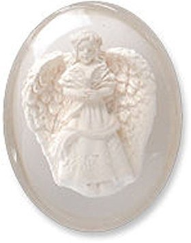 Peace Angel Worry Stone Smooth to Rub Your Worries Away Great for Pocket or -