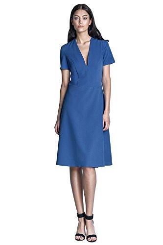 Blau Dress Nife Nife Damen Dress Schlauch Schlauch Blau Nife Damen w8S4Zz8q